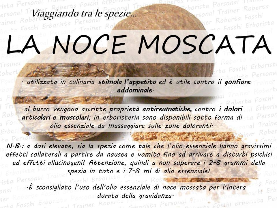 Infografica Noce Moscata